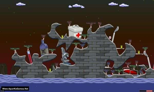 Worms World Party Remastered Game Free Download