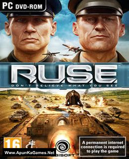 R.U.S.E. Cover, Poster, Full Version, PC Game, Download Free