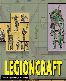 LegionCraft Cover, Poster, Full Version, PC Game, Download Free