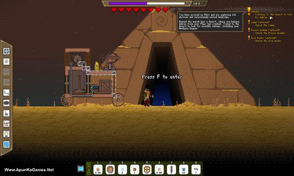Mechanic Miner Screenshot 3, Full Version, PC Game, Download Free