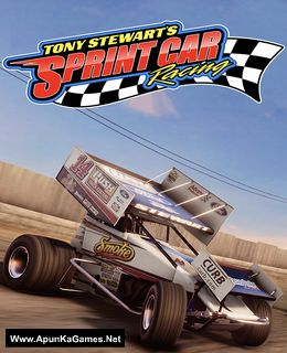 Tony Stewart's Sprint Car Racing Cover, Poster, Full Version, PC Game, Download Free