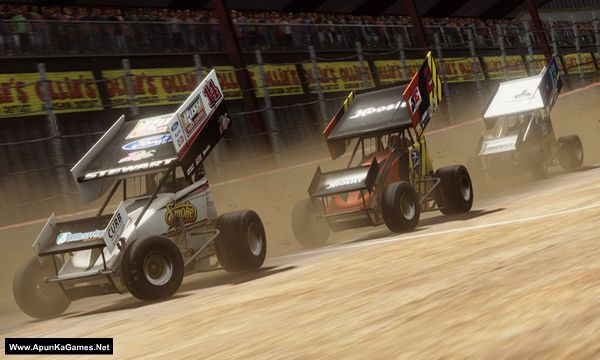 Tony Stewart's Sprint Car Racing Screenshot 1, Full Version, PC Game, Download Free