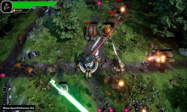 Armoured Onslaught Screenshot 1, Full Version, PC Game, Download Free