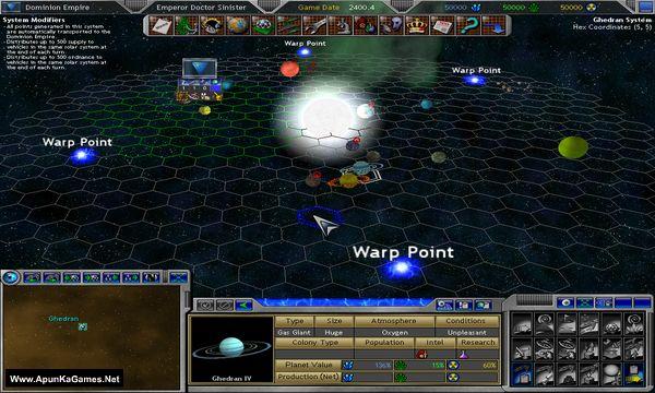 Space Empires V Screenshot 1, Full Version, PC Game, Download Free