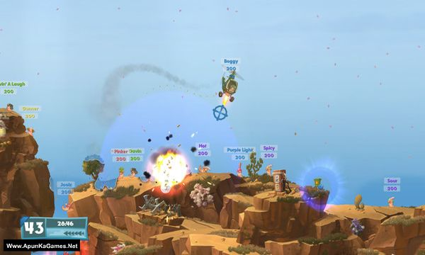 Worms W.M.D Screenshot 3, Full Version, PC Game, Download Free