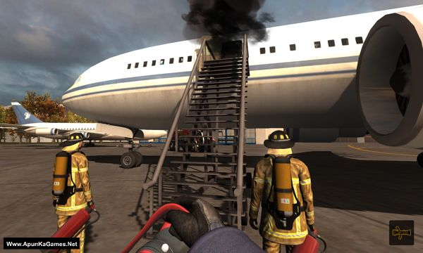 Airport Firefighters The Simulation Screenshot 3, Full Version, PC Game, Download Free