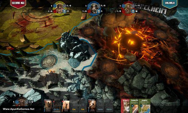 Blood Rage Digital Edition Screenshot 3, Full Version, PC Game, Download Free
