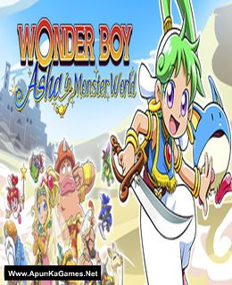 Wonder Boy: Asha in Monster World Cover, Poster, Full Version, PC Game, Download Free