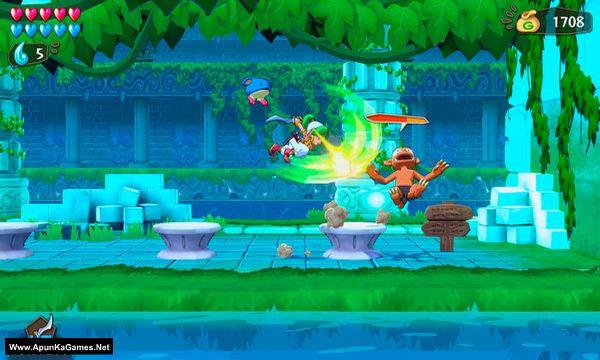 Wonder Boy: Asha in Monster World Screenshot 1, Full Version, PC Game, Download Free